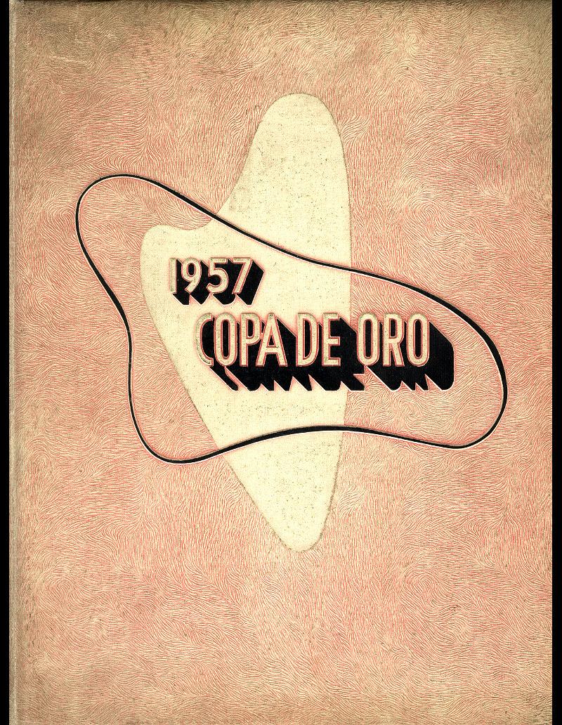 1957 Copa de Oro Cover
