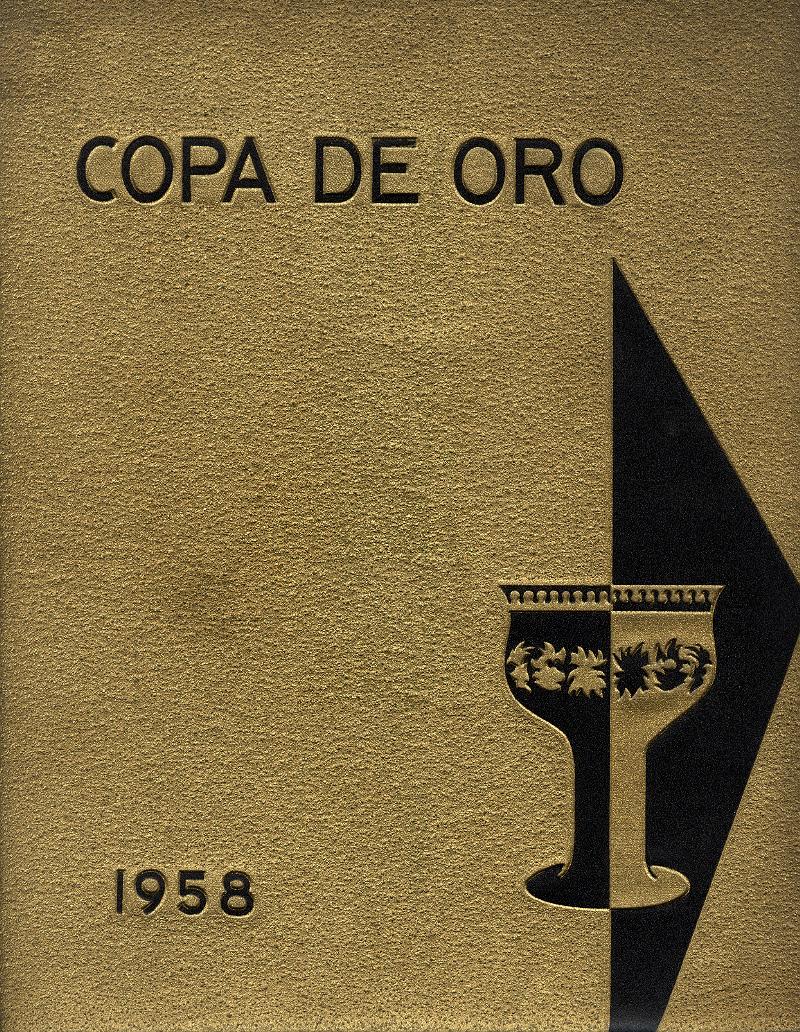 1958 Copa de Oro Cover