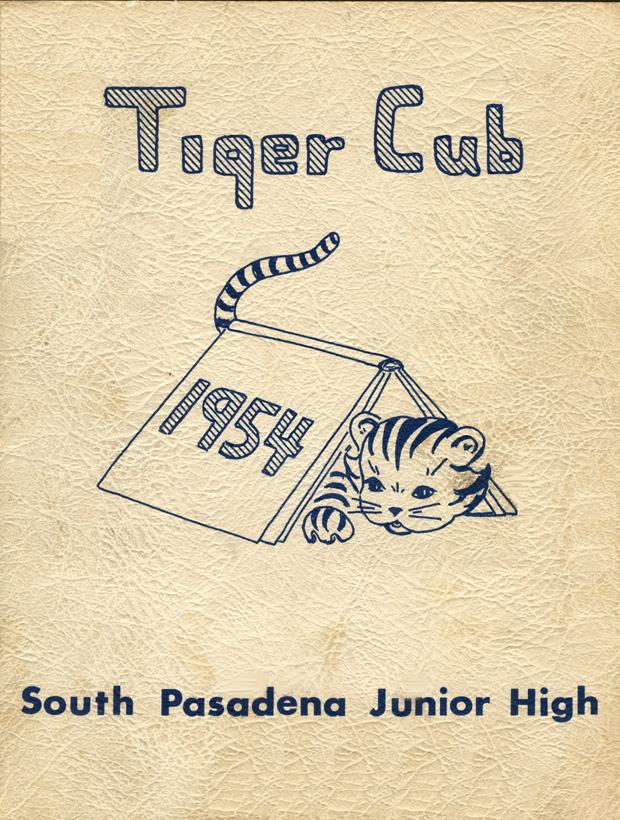 1954 Tiger Cub annual Cover page