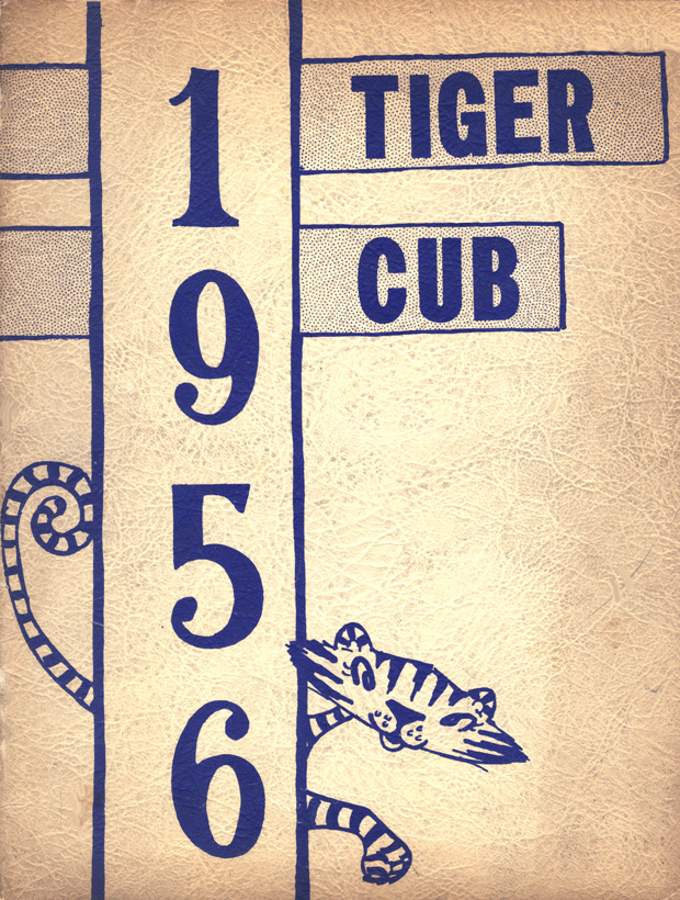 1956 Tiger Cub annual Cover page