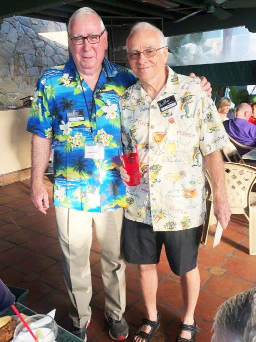 Denis Petersen and Tom O'Hara