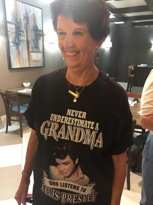 Barbara Monahan's Granny shirt