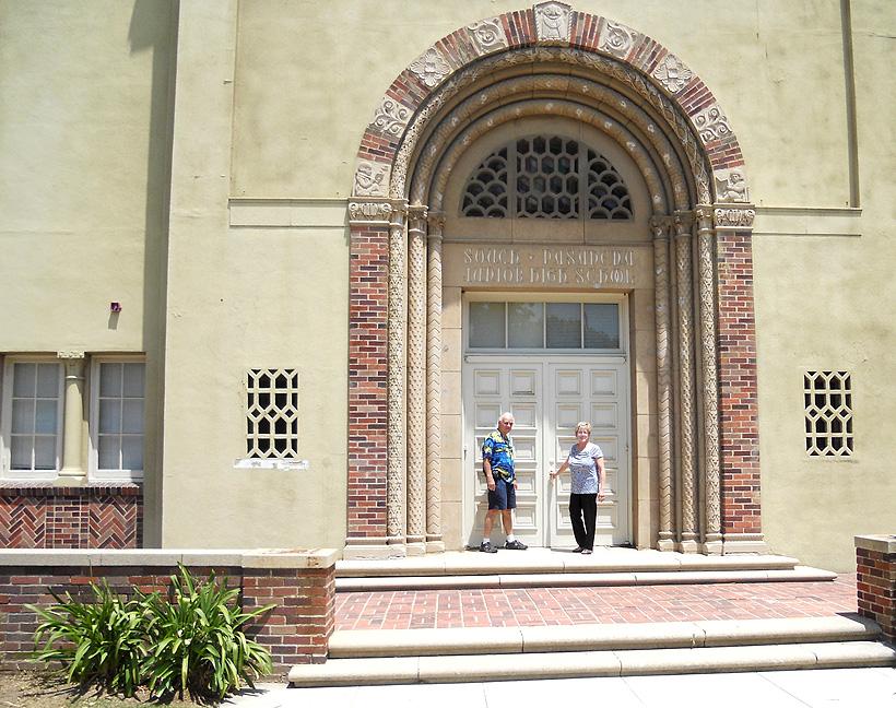 Jr. High front door