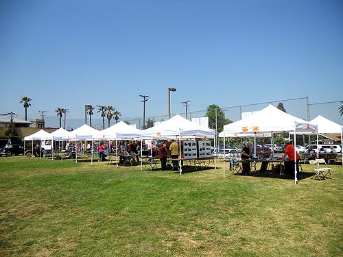 vendors tents