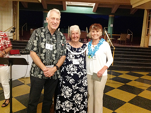 Kenneth Knicker, Lorilla LaPlante and Judy Genovese.