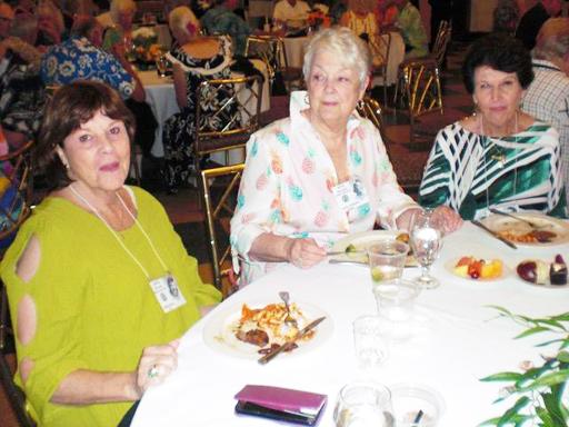 Judie Swink, Judie Anderson and Barbara Monahan