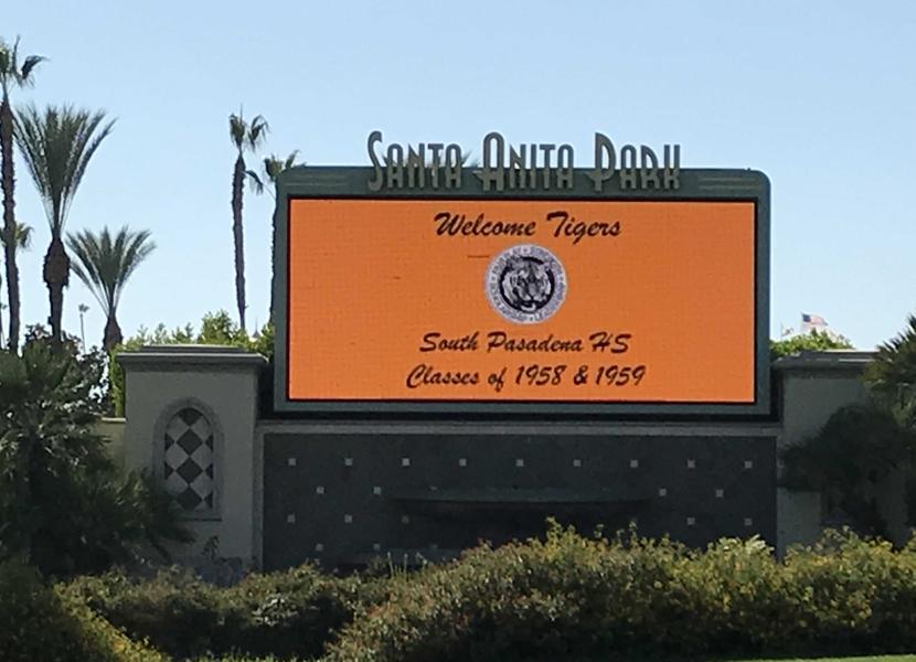 Santa Anita Park Gate 5 Marquee