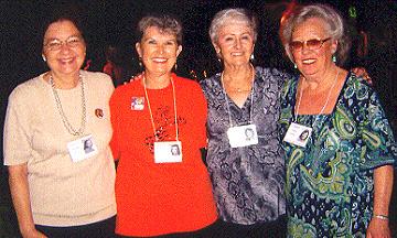 Pauline, Karen, Cathie, De Lee