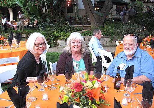 Joni, Judy and George
