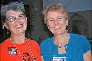 Karen and Sandy
