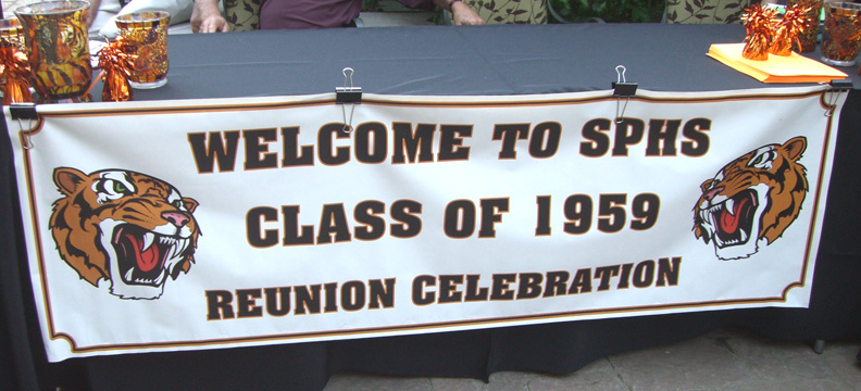 50 year reunion banner