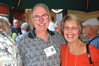 Ron Howe and Ginny Sylvester