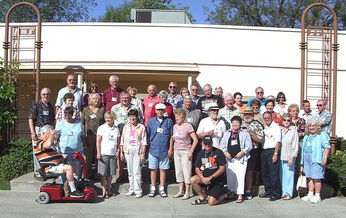 School tour group