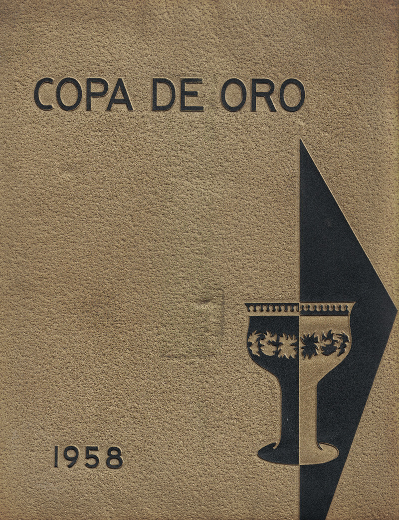 SPHS 1958 Copa annual cover
